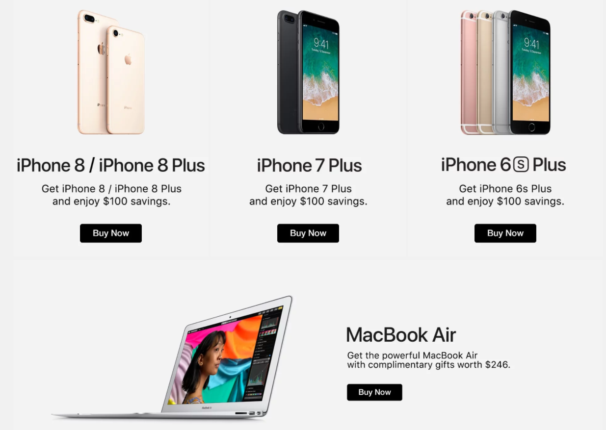 Deal Alert: Great deals on the entire Apple product range at ...