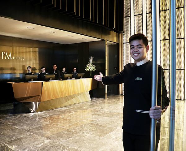 I'M Hotel Lobby. (Image from I'M Hotel)