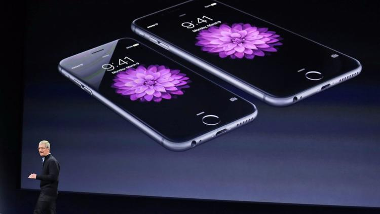 The iPhone 6 is one of the phones which battery has aged enough that the new version of iOS decided to slow down. <br> Image source: LA Times.