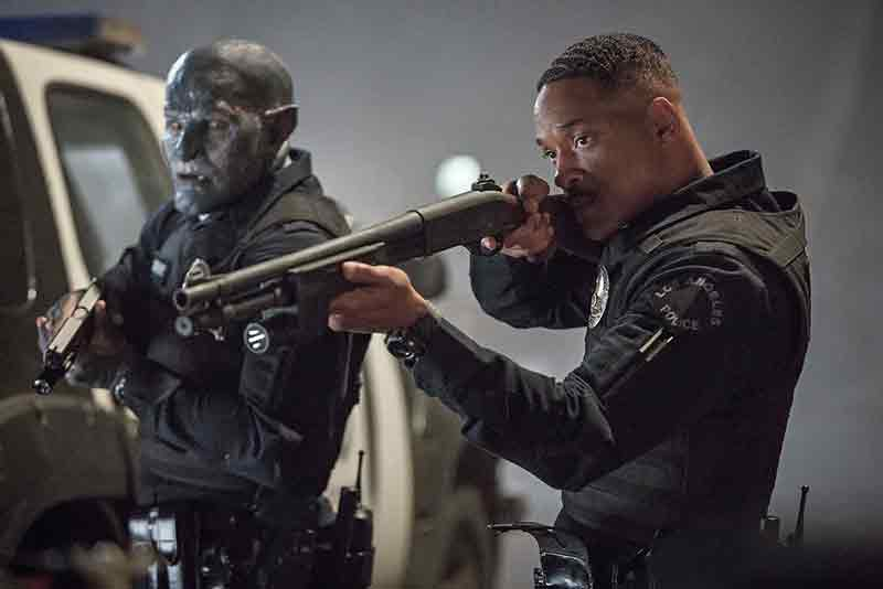 Netflix's upcoming original film Bright will be available to stream in HDR. (Image Source: Netflix)