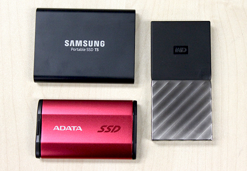 There are no losers here, but we feel that the Samsung Portable SSD T5's blend of performance, design, and usability makes it the best drive for most people.