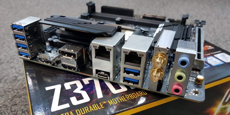 Considering its ITX nature, it's still impressive that Gigabyte managed to fit dual LAN ports and a Wi-Fi module into the motherboard.