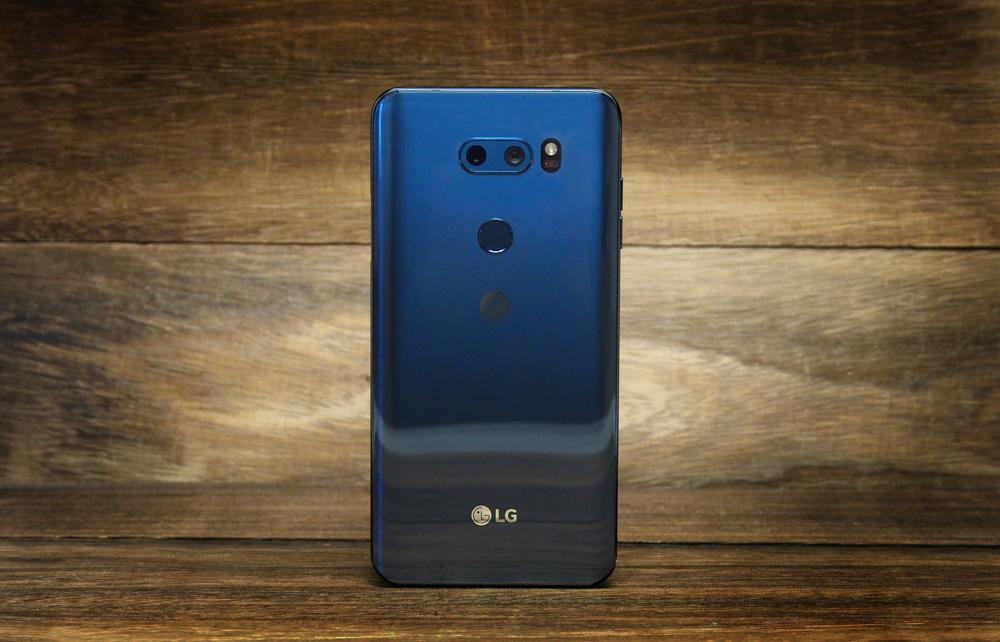 The LG V30+.