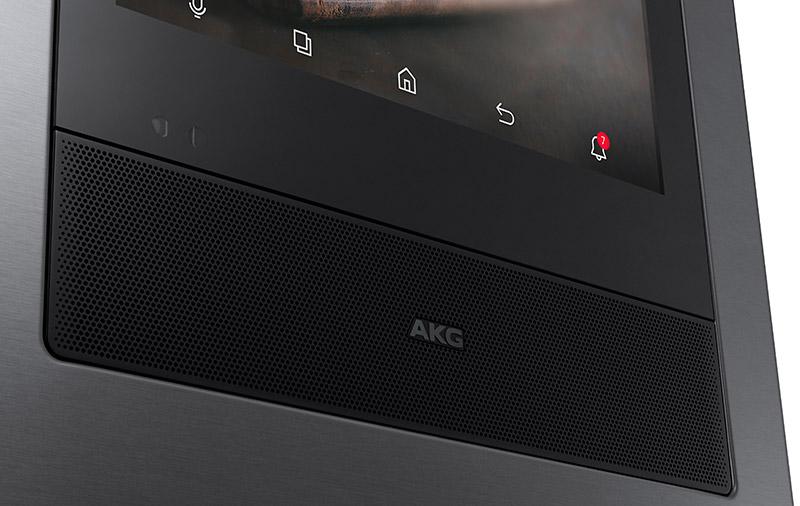 AKG speakers on a fridge! (Image source: Samsung.)