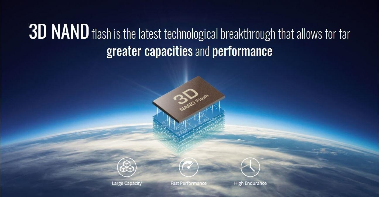 3d tlc nand ssd, solid state drives, ssd, transcend
