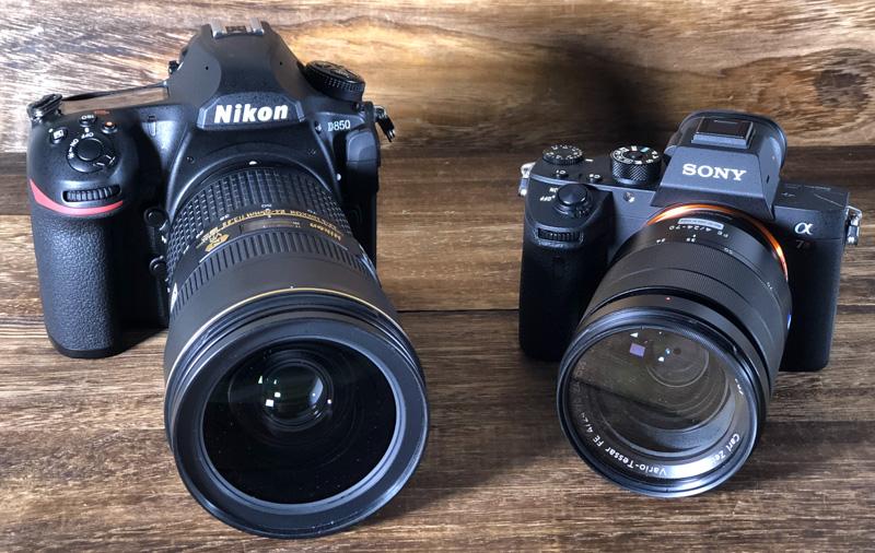 Nikon D850 vs  Sony A7R III: Speedy full-frame titans