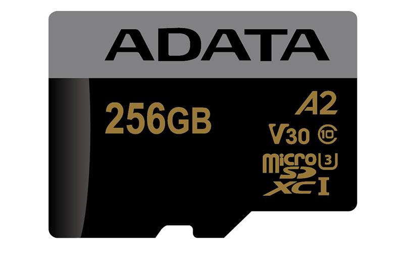 ADATA A2 microSD card.
