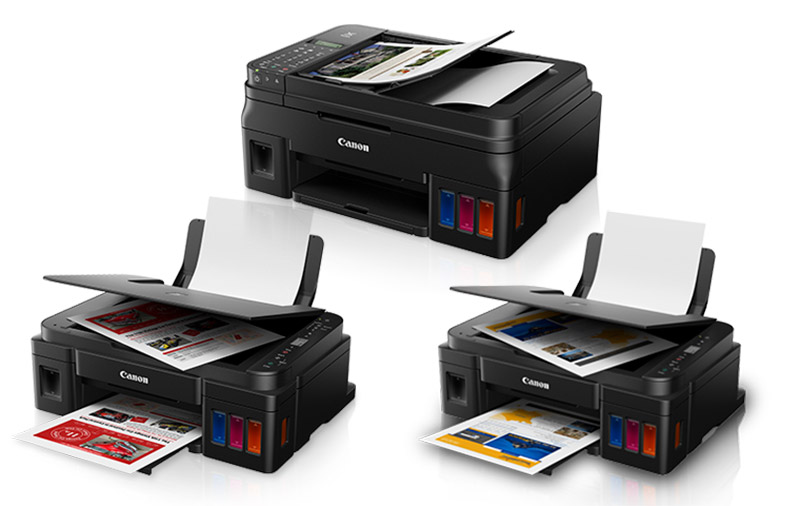 Canon updates its Pixma G ink tank printer series with three