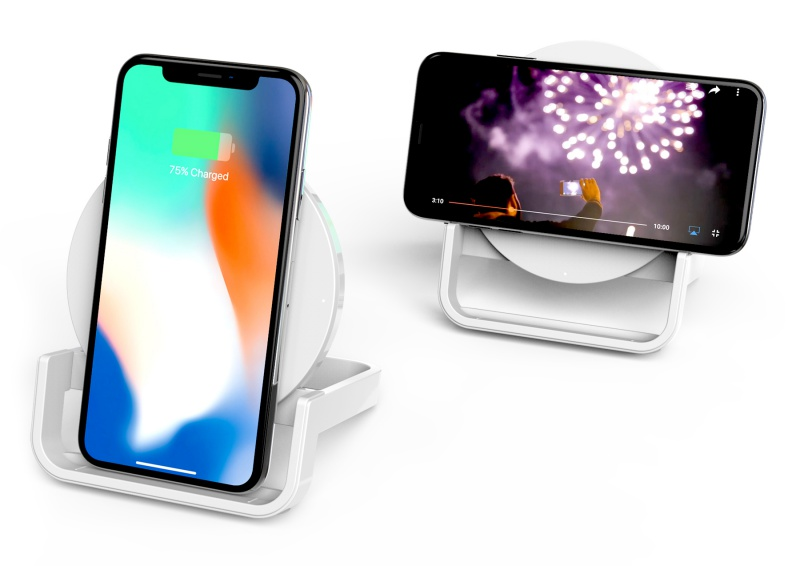 The Boost Up Wireless Charging Stand.