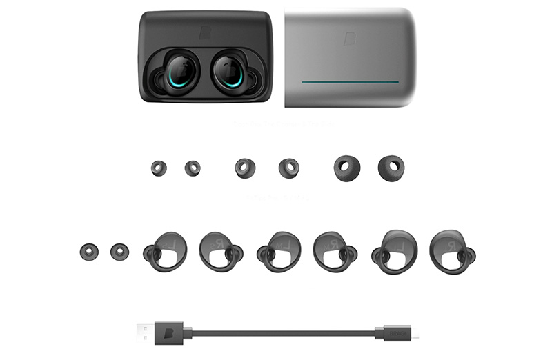 The Dash Pro comes with a full set of accessories.