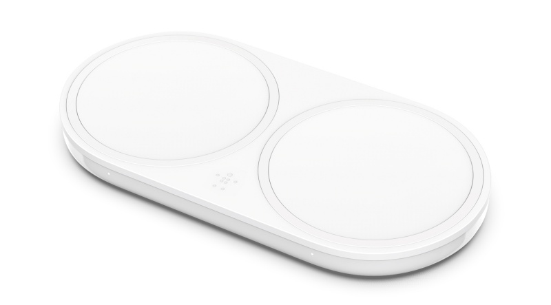The Boost Up Dual Wireless Charging Pad.