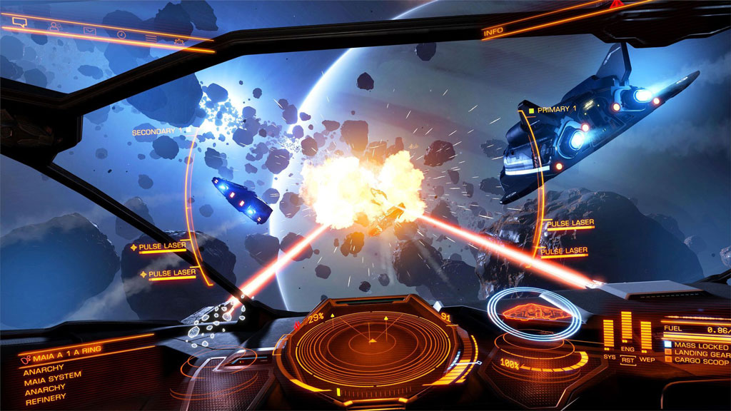 Space sims such as Elite: Dangerous is getting a mini revival too.