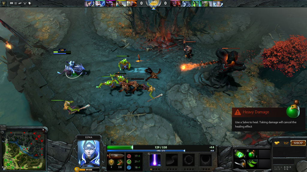 For DOTA 2 players, you don't need a high-end computer to play the game. Even at a competitive level.