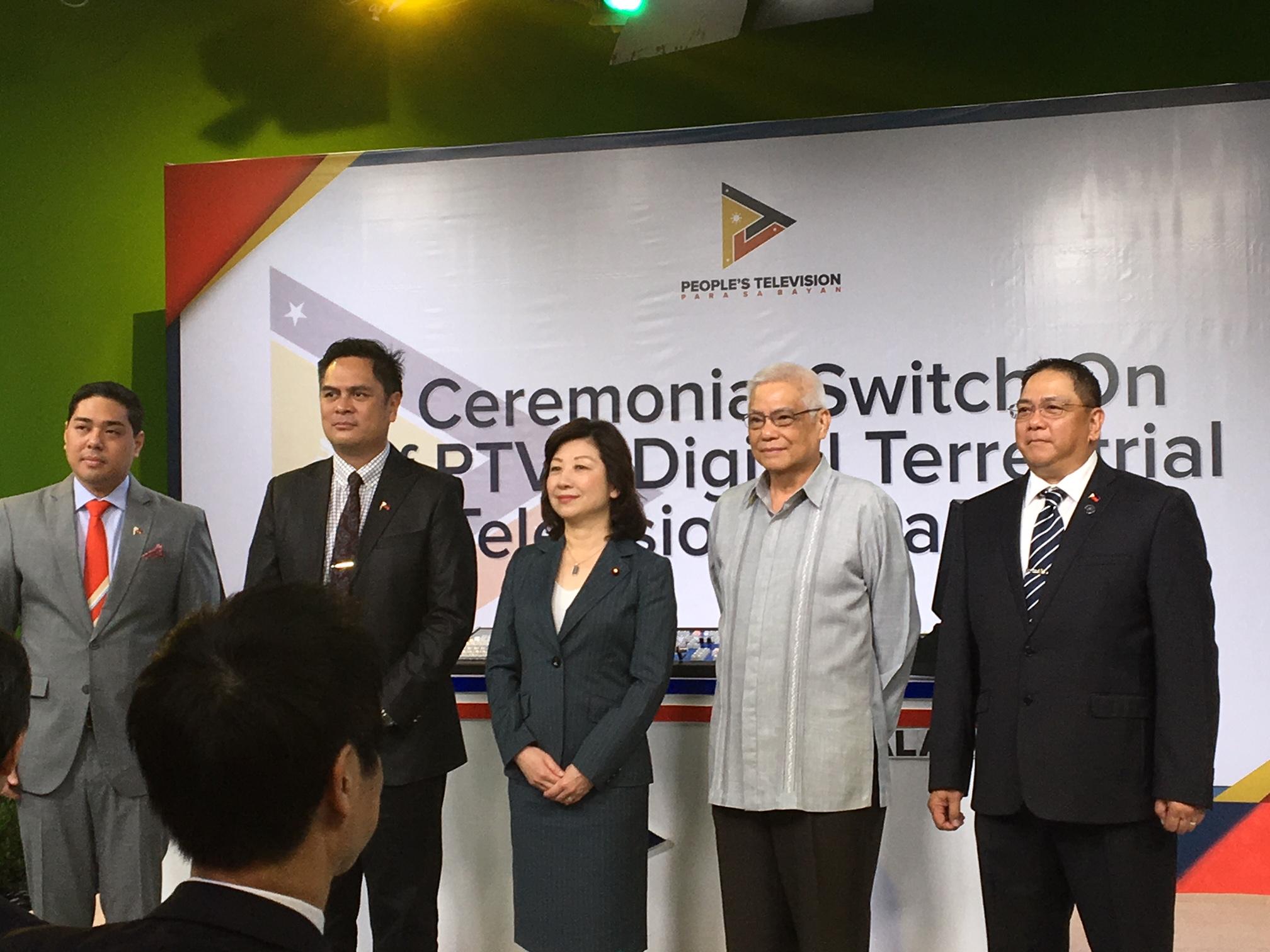 PTV, digital, broadcasting, NEC