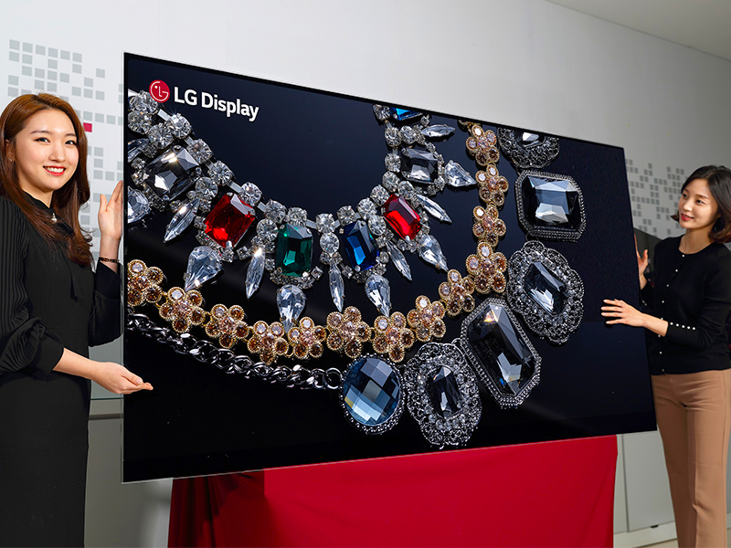 8k, ces, ces 2018, lg display, lg display 88-inch 8k oled, oled, television