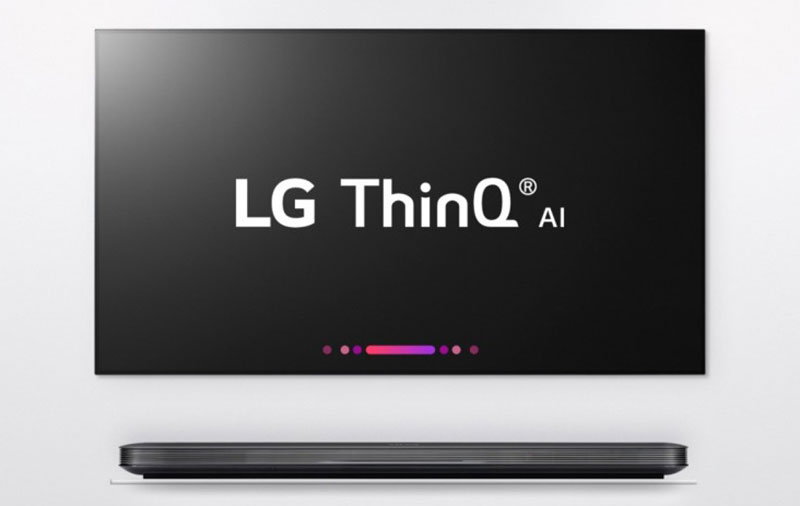 LG's new ThinQ AI is coming to its TVs, too. (Image source: LG.)