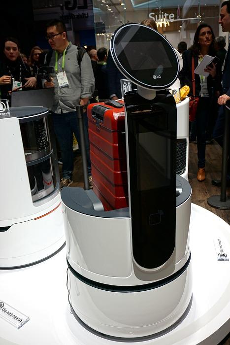 LG's Porter Robot.