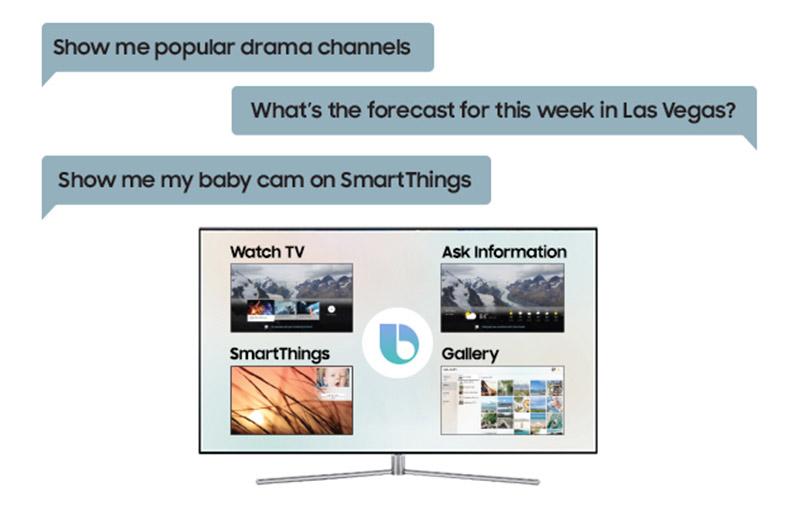 Samsung's 2018 smart TVs gain Bixby and SmartThings