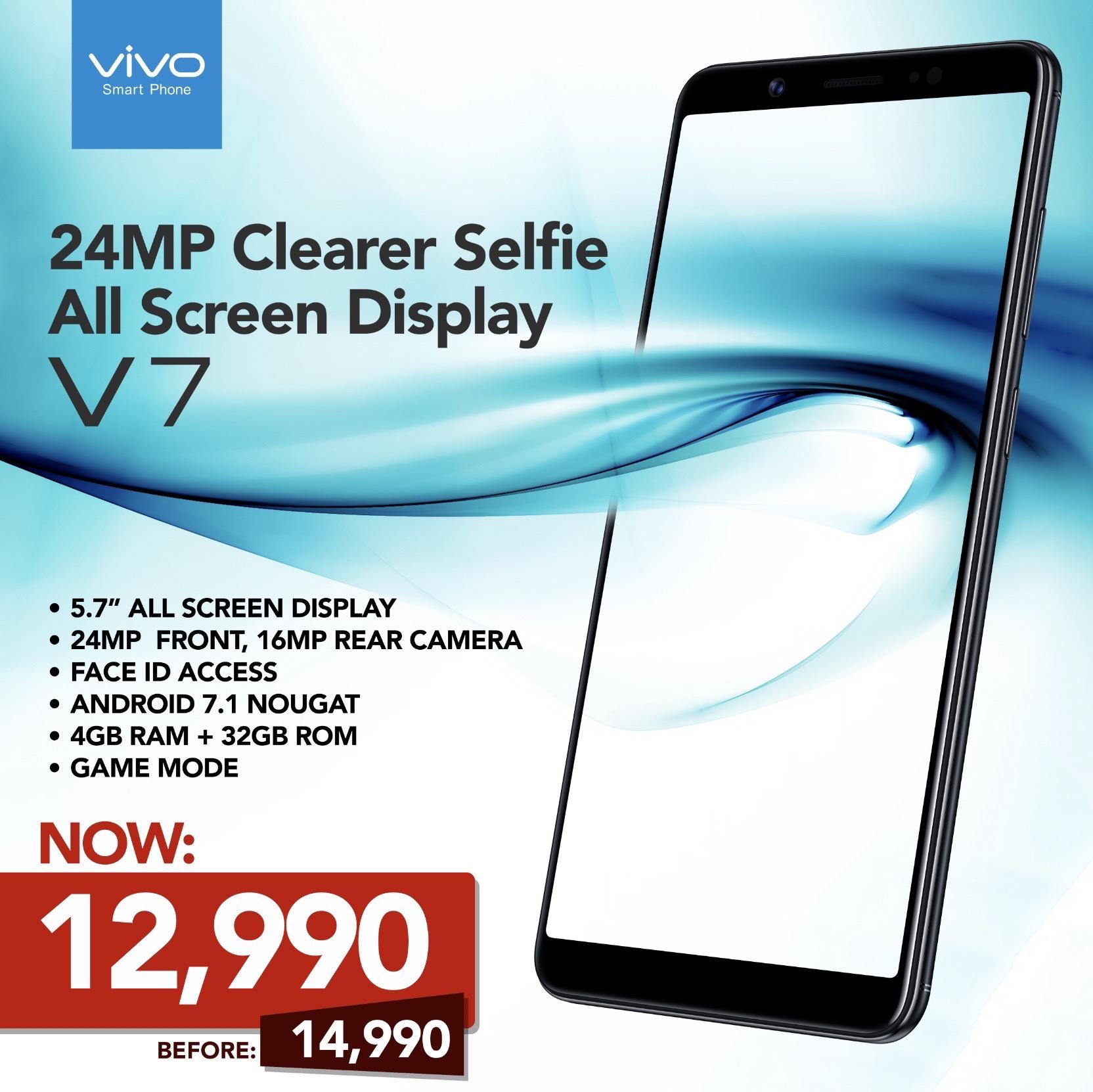 The Vivo V7.