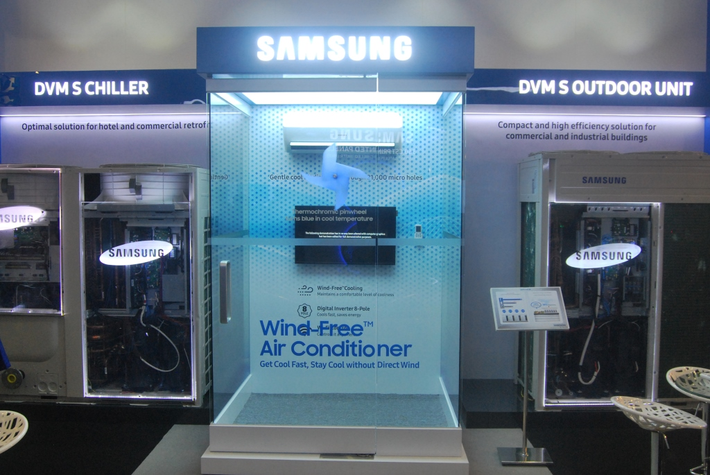 Samsung Showcases Its Latest Air Conditioning Innovations