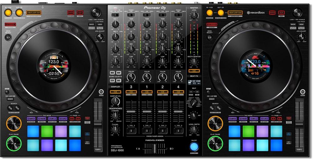 ddj-1000, dj equipment, pioneer, redkordbox dj