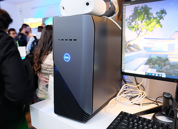 One of the cheapest ticket into VR. The Dell Inspiron 5000 Gaming will start at US$799.