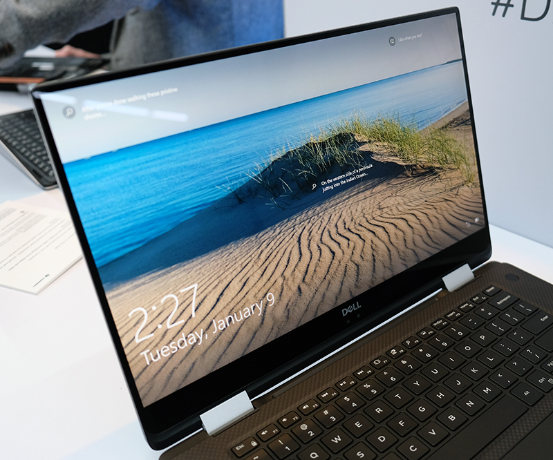 Hands-on with the new Dell XPS 15 2-in-1, featuring an Intel