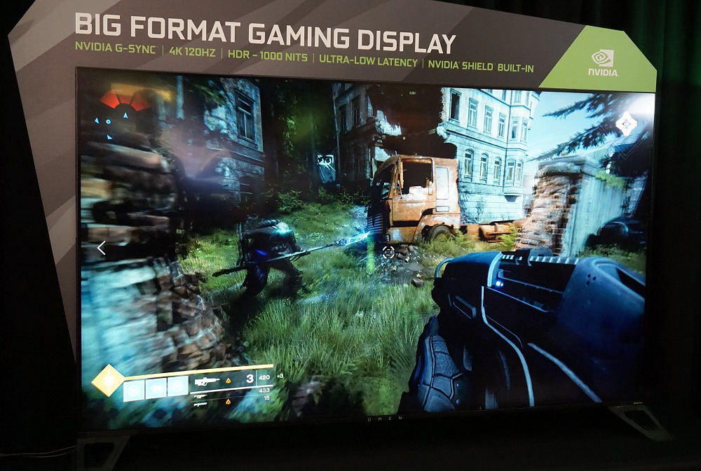 The demoed BFGD was quite convincing with very fast response and thanks to G-Sync (and a powerful GPU on the gaming rig), the fast paced gaming experience was buttery smooth. We can't wait to see how it will shape the big screen markets moving forward.