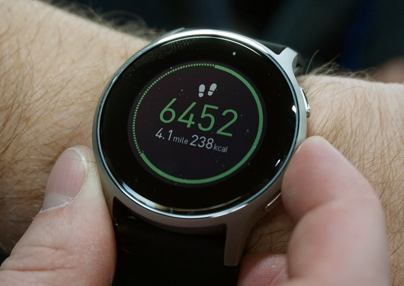 This is the world's first smartwatch with accurate blood..