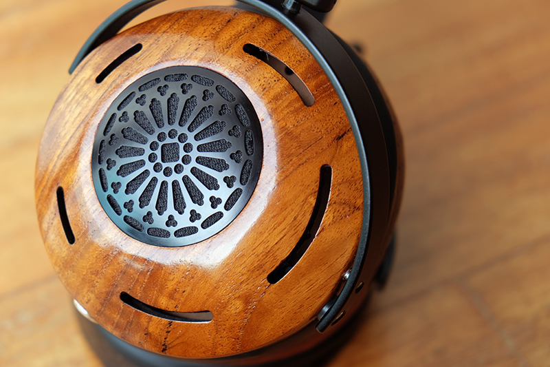 The Auteur isn't as open as most other open-back headphones. The grilles are especially pretty though.