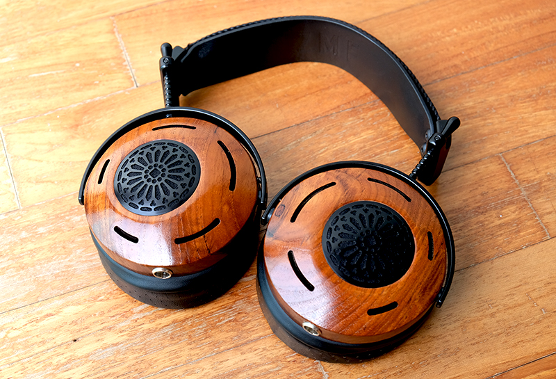 The Auteur features solid wood ear cups and a design that is unlike anything else in the market.