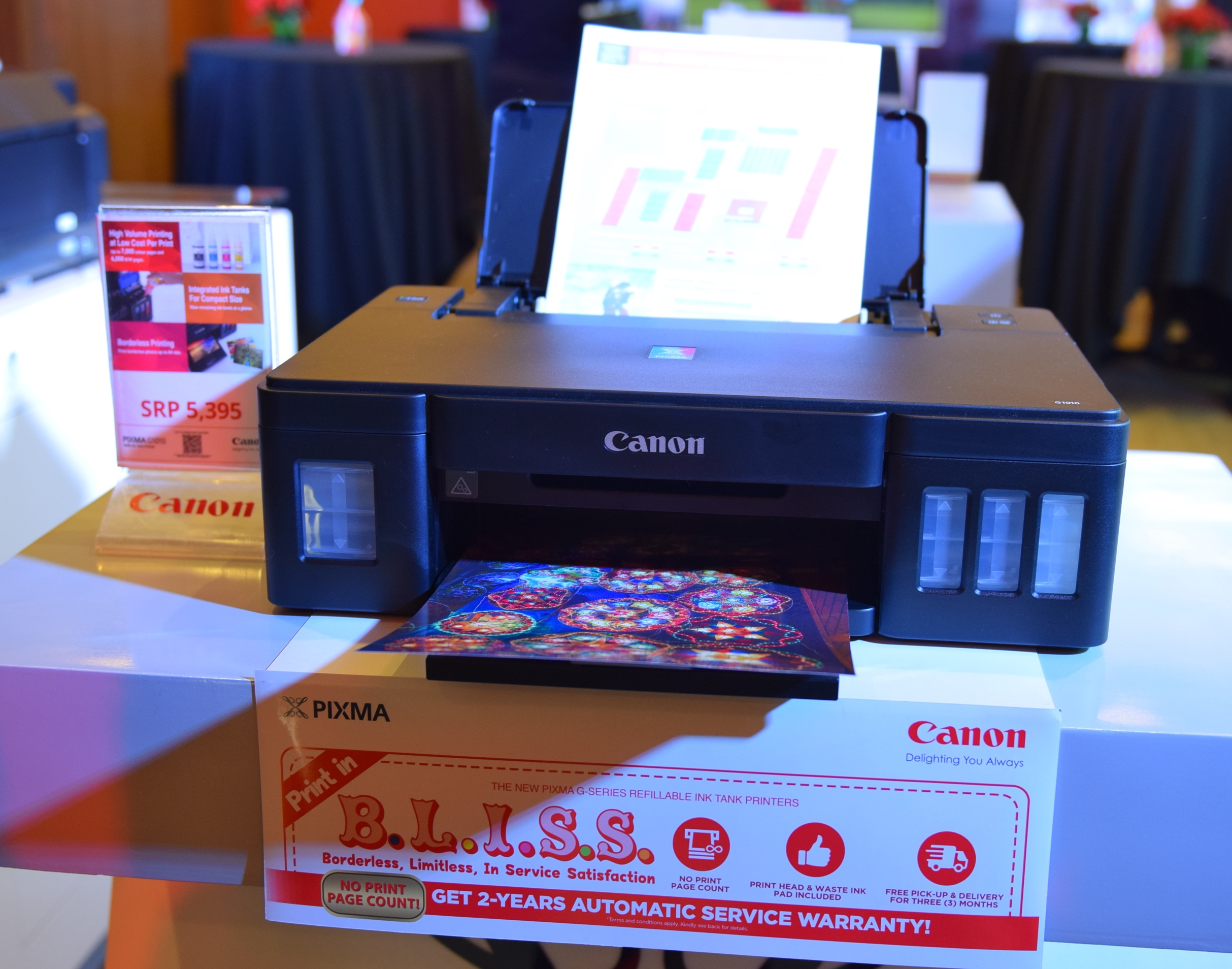 canon, canon g series, low cost printing, pixma, printers