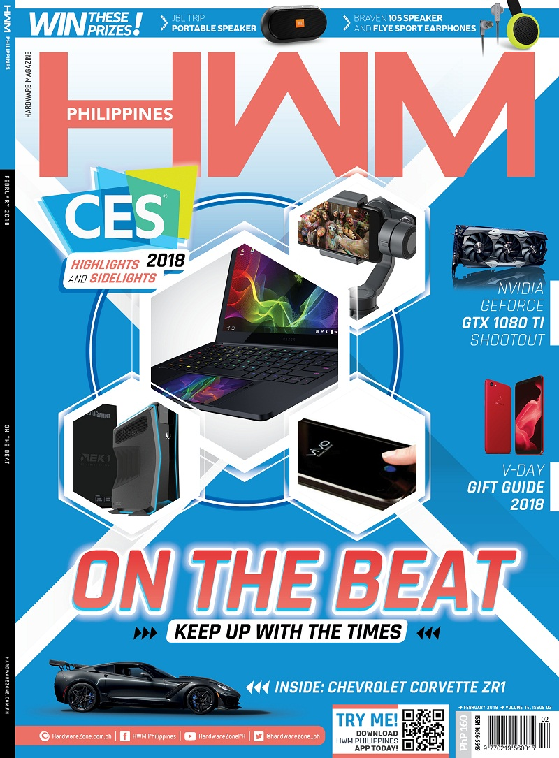 february, hwm, philippines, valentines, ces 2018, las vegas, v-day, graphics cards, ssd