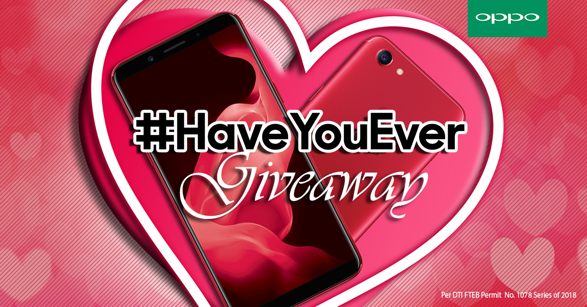 smartphones, android, oppo, oppo philippines, valentines day, 2018, hugot, SM gift certificates, promo