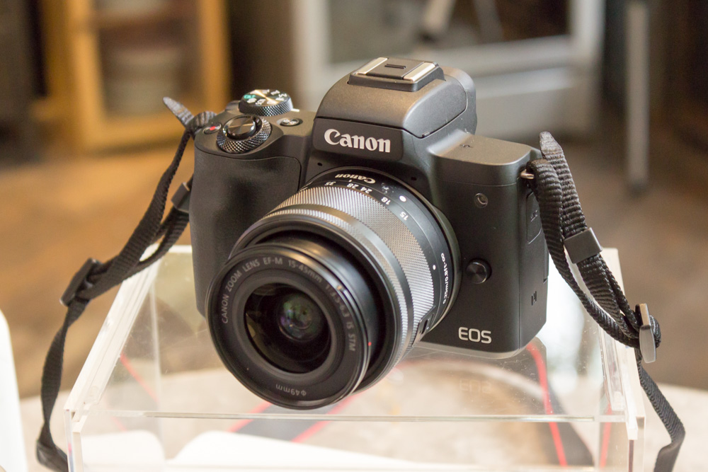 Updated: The EOS M50 is Canon's first mirrorless camera to