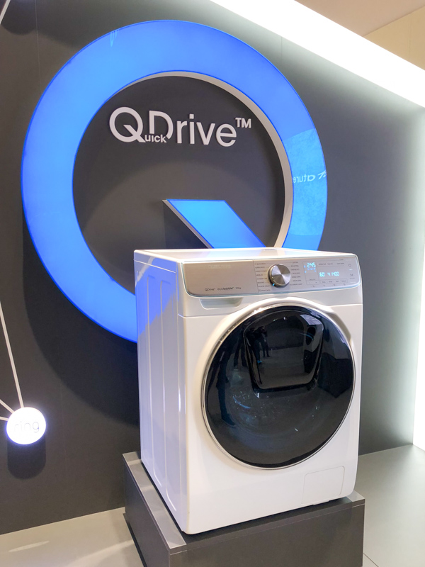 Samsung's QuickDrive washing machine promises to cut your laundry