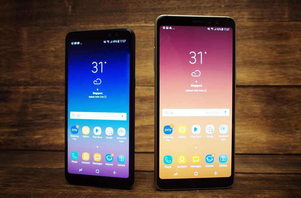 Samsung Galaxy A8 And A8 2018 Review Infinity Display Comes To