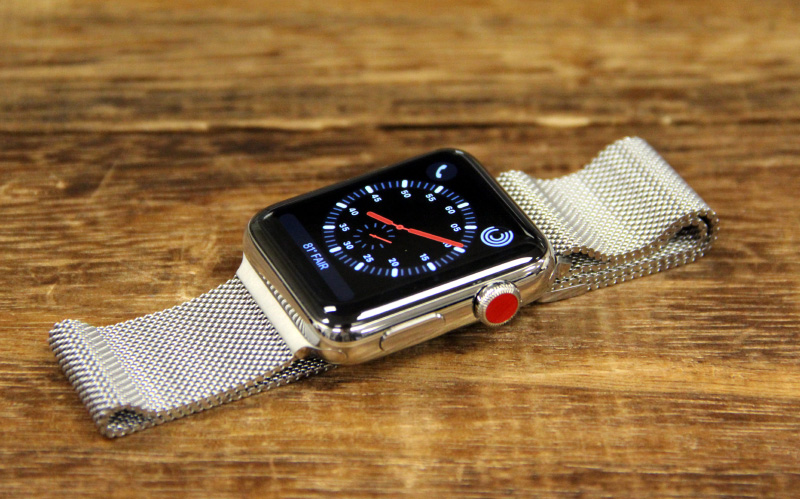 With the LTE versions now available, you can finally get an Apple Watch in stainless steel.