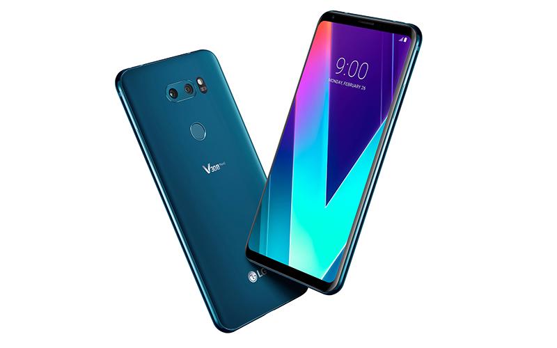 LG V30S ThinkQ moroccan blue