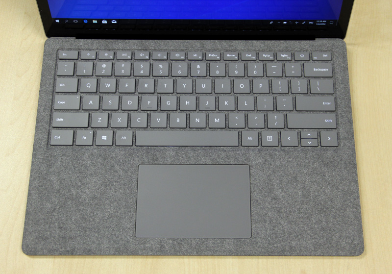 The keyboard and trackpad are great, but the keyboard can be prone to flexing.