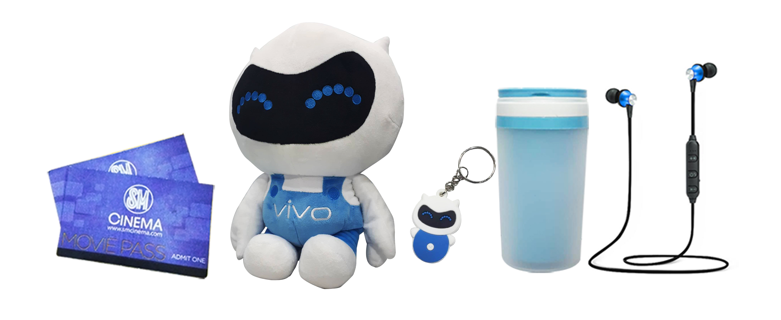 Win any of these with Vivo Love Month Special promo!