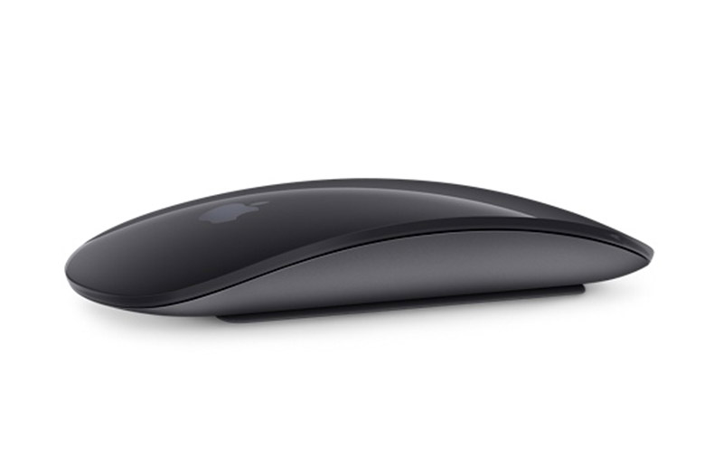 Apple's Magic Mouse has a multi-touch surface that allows you to perform simple gestures such as swiping between web pages and scrolling through documents.
