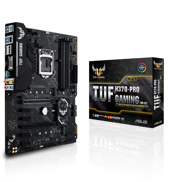 asus, intel, motherboards, chipsets, h370, b360, h310, coffee lake, 8th generation, core, processors, rog, republic of gamers, tuf gaming, prime, optane