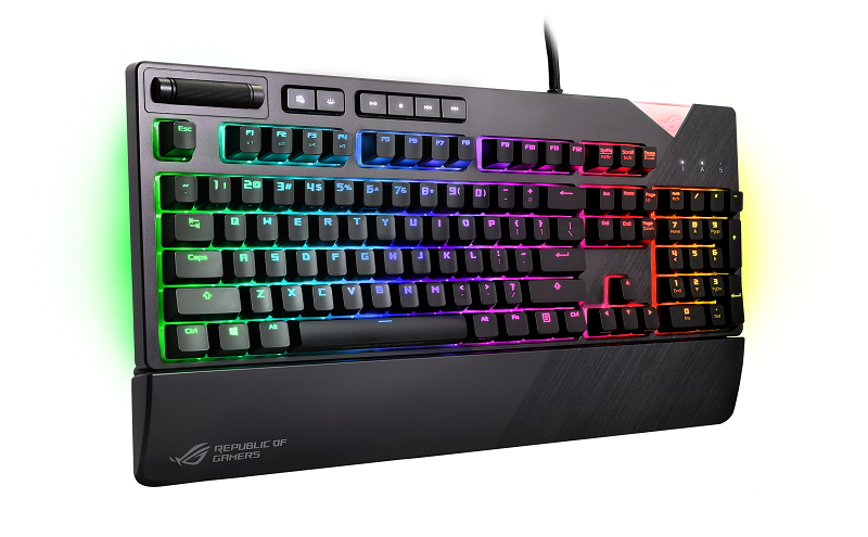 asus, rog, republic of gamers, rog strix flare, mechanical keyboard, rgb, price, availability, cherry mx, switch, gamers, gaming, n-key rollover, aura sync, rog armoury ii, mapping