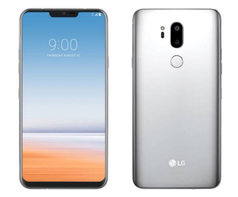 A purported render of the LG G7 smartphone. <br>Image source: Benjamin Geskin