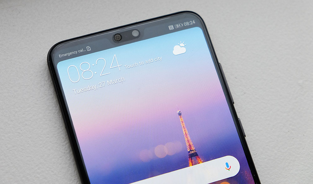 This is with the notch hidden; which do you prefer?