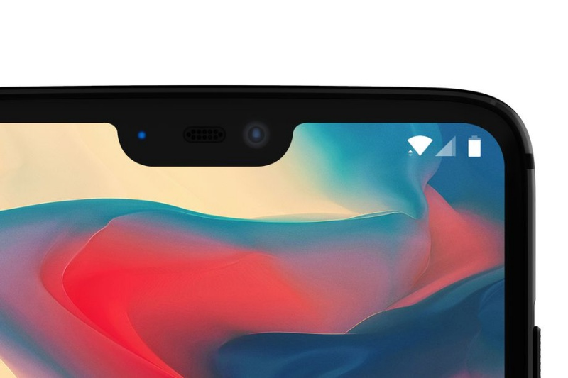 This is the first official image of the OnePlus 6 which the company revealed to The Verge.