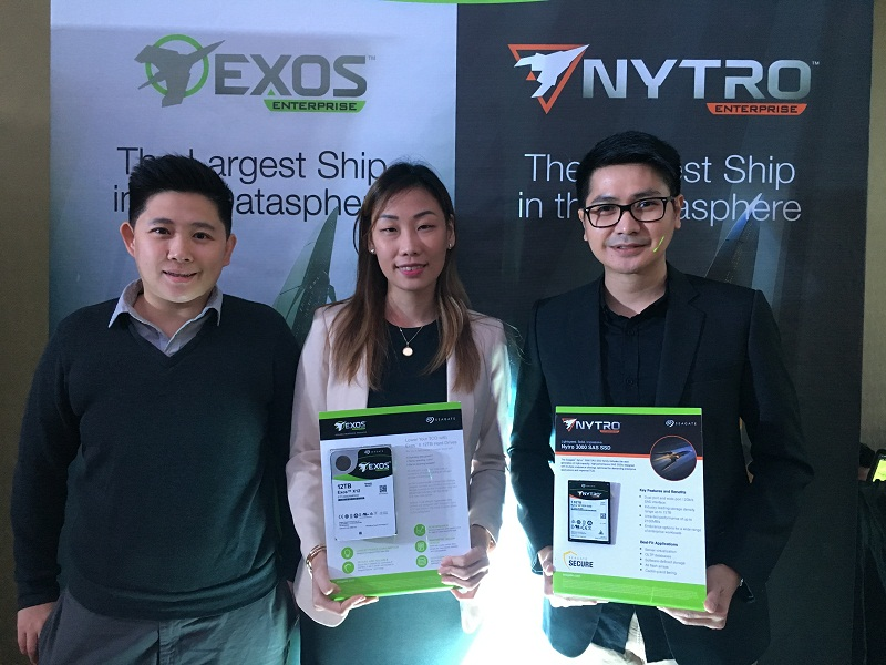 Seagate brings Exos X, Exos E, and Nytro enterprise storage
