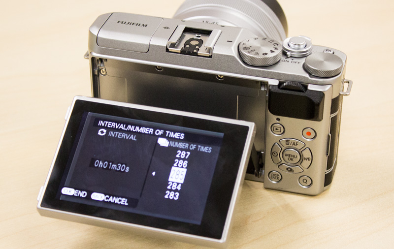 Get a calculator handy if you want to capture a time-lapse movie on your camera.