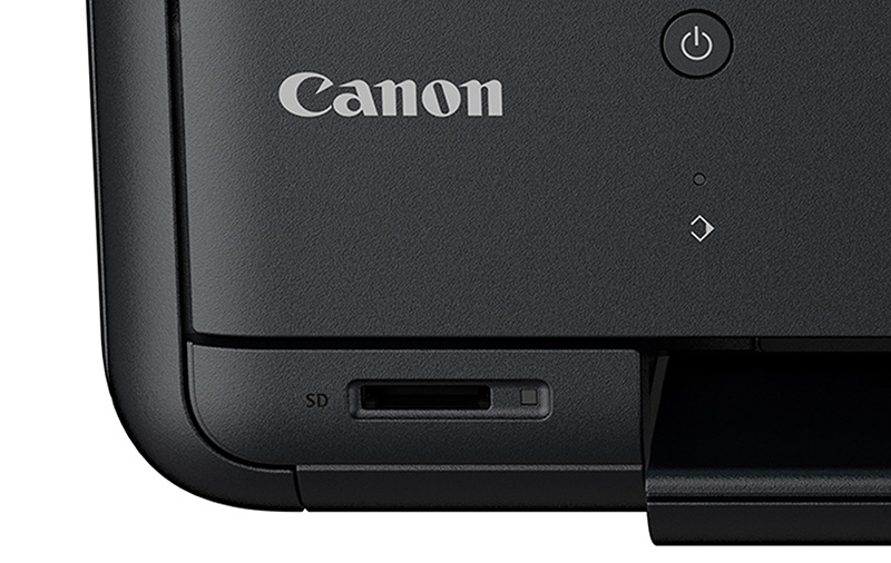 The Pixma TR8570 supports direct printing from a memory card.